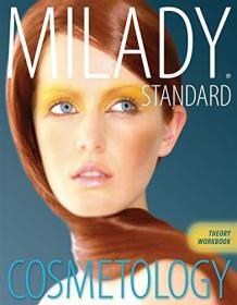 英文原版书 Theory Workbook for Milady Standard Cosmetology - 2012 Paperback by Milady (Author)