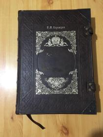 外文原版  大8开全彩  厚册  精装  3面刷金  4包角两个书扣  1223页   请看图