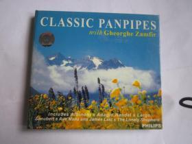 CD  光盘  唱片    Philips   CLASSIC  PANPIPES