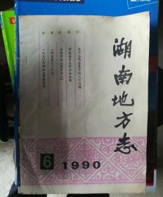湖南地方志1990(6)