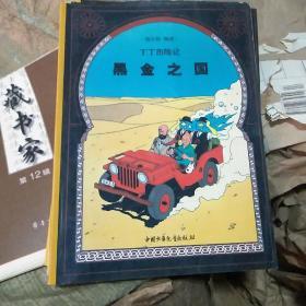 丁丁历险记-黑金之国  (大16开 定价25元)