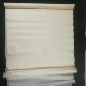 【老宣纸】  八九十年代陈年老宣纸四尺14张,多斑点
