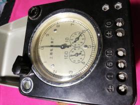 旧电表  DB2  型单相标准电度表(上海电度表厂制造1984年)