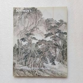 纽约苏富比2011秋图录:中国古代书画 Fine classical chinese paintings