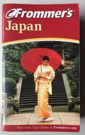 FROMMERS JAPAN(第6版)(英文原版,32开一厚册)