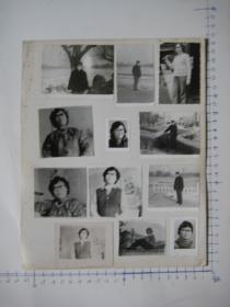 照片  黑白老旧照片   66 【 照片上的合售】