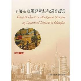 上海市商圈经营结构调查报告