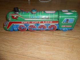 铁皮玩具-火车