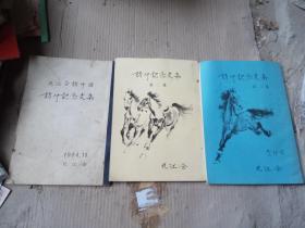 九江访中纪念文集1.2.3集(日文)