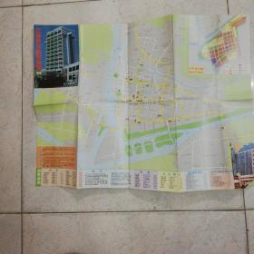 江都市交通旅游图