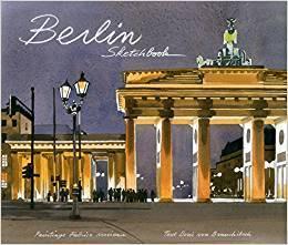 Berlin Sketchbook 柏林水彩写生本