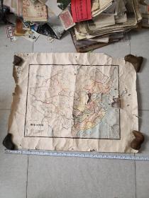 手绘中国地图 江光文绘