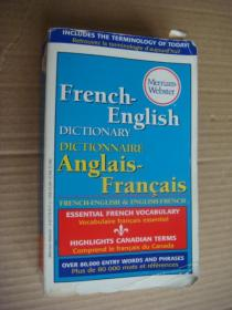 Merriam-Webster French-english Dictionary;Dictionnaire Anglais-Francais  法英-英法双向词典 原版正品