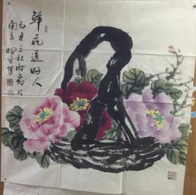 周昭平国画作品4 保真