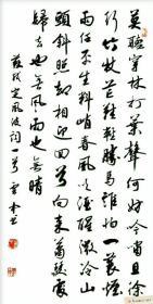 【保真】实力书法家董云忠行书力作:苏轼《定风波》