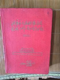 老日记本-北京。。。先进工作者大会纪念(1959。1)