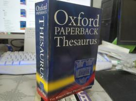 Oxford Paperback Thesaurus【英文原版书】