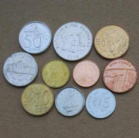 旧币10个国家10枚纪念币外国钱币硬币收藏年份随机