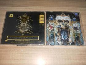 正版现货 CD 迈克.杰克逊 Michael Jackson 危险之旅  上海声像方型小标