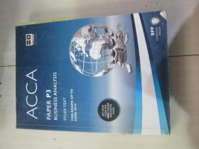 ACCA P3 Business Analysis  (Study Text)  For exams up to June 2014英文版