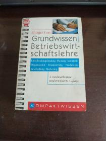 Grundwissen Betriebswirtschaftslehre.