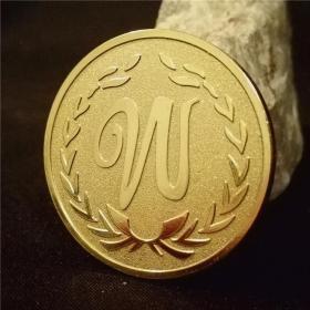 点金胜手镀金币 黄宗泽金银币收藏LW硬币收藏钱币魔术币 幸运币