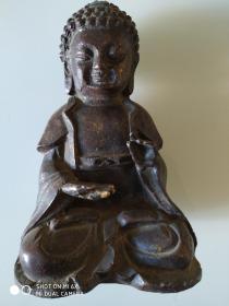 佛像【高18厘米、底座12厘米】