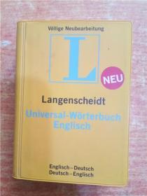 L NEU LANGENSCHEIDT ENGLISCH 具体书名语种以图书实物为准