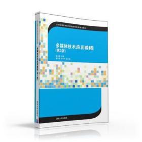 多媒体技术应用教程 第2版 正版 金永涛、崔业勤、张兴华  9787302437406