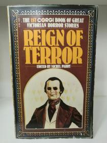 维多利亚时代恐怖故事 Reign of Terror:The 1st Corgi Book of Great Victorian Horror  Stories (恐怖小说)英文原版书