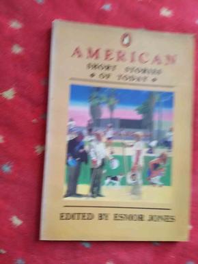 企鹅丛书 美国微型小说选 英文版