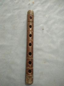 清代红木乐器笛子