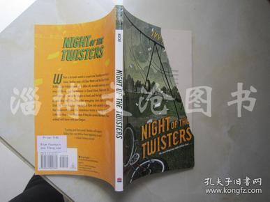 Night of the Twisters【32开  英文原版】(龙卷风之夜)【封面有破损】