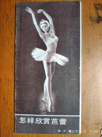 怎样欣赏芭蕾
