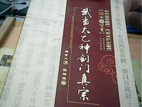武当太乙神剑门真宗(附光盘) 正版现货一版一印
