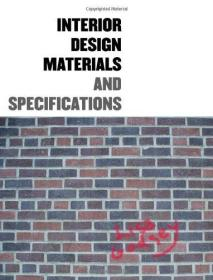 Interior Design Materials and Specification(有CD)
