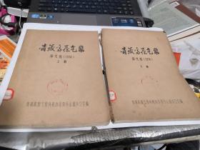 青藏高原气象 译文选(1974)【上 下   馆藏】有破损