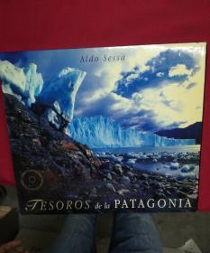 jesoros de la patagonia--8开硬精装原版摄影画册--有碟,外盒