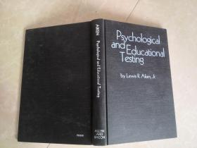 PSYCHOLOGICAL AND EDUCATIONAL Testing
