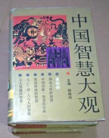 中国智慧大观 (1一4册全  馆藏书)