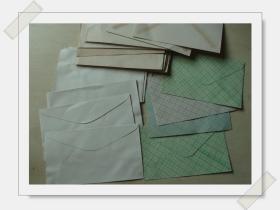 请看早期空白信封24张        见图