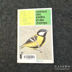 法文原版鸟类书籍 oiseaux des jardins er des champs