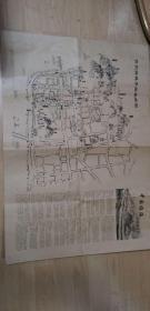 台州府城手绘旅游图