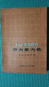 1-10000开方乘方表