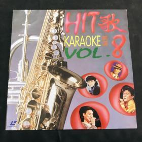 镭射影碟 国语畅销金曲卡拉OK3「HIT歌8 KARAOKE精选」