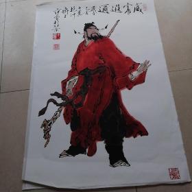 珂罗版钟馗画2