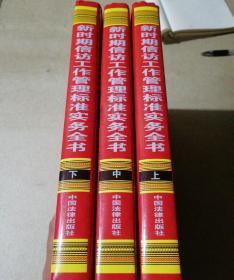 新时期信访工作管理标准实务全书(上中下册)三本