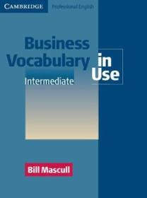 Business Vocabulary in Use:Intermediate