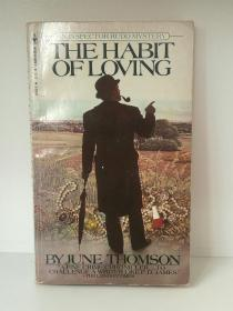 Habit of Loving An Inspector Rudd Mystery by June Thomson (推理小说)英文原版书