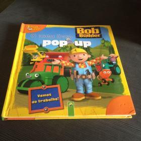 Bob the BUilder  〇 men livro POP-UP